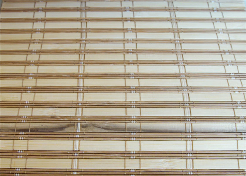 Moth Proof Printed Bamboo Blinds Fumigation Certification For Sukkot Tent Festival